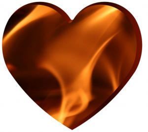 A Vital Loving Heart Experiences the Fires of Passion!